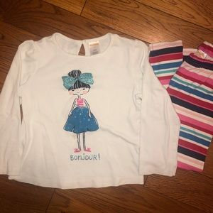 Gymboree 5T matching outfit
